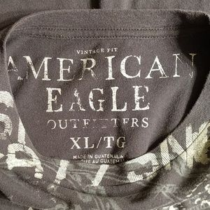 American Eagle Outfitters Shirts - American Eagle Charcoal T-shirt